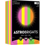 "Astrobrights Colored Paper - Letter - 8.50"" x 11"" - 24 lb Basis Weight - 0% Recycled Content - Smoot NEE99609"