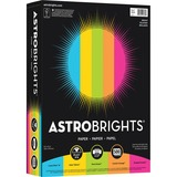 "Astrobrights Colored Paper - Letter - 8.50"" x 11"" - 24 lb Basis Weight - 0% Recycled Content - Smoot NEE99608"
