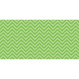 "Fadeless Chic Chevron Design Bulletin Board Papers - 48"" x 12 ft - 1 Roll - Lime - Paper PAC55818"