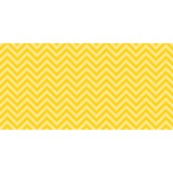 "Pacon Chic Chevron Design Bulletin Board Papers - 48"" x 12 ft - 1 Roll - Yellow PAC55808"