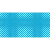 "Pacon Classic Dots Design Bulletin Board Papers - 48"" x 12 ft - 1 Roll - Aqua PAC57428"
