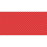 "Fadeless Classic Dots Design Bulletin Board Papers - 48"" x 12 ft - 1 Roll - Red - Paper PAC57408"