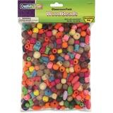 ChenilleKraft Wood Beads - 1 Each - Assorted - Wood CKC6116