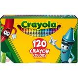 Crayola 120 Crayons - Assorted - 120 / Box CYO526920