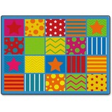 FCIFE33132A - Flagship Carpets Silly Seating Classroom Rug