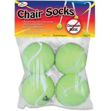 The Pencil Grip Chair Socks - Yellow - 4 / Pack TPG230