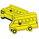 The Pencil Grip Bus-shaped Magnetic Board Eraser - Magnetic - Yellow - 12 / Pack TPG326B