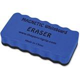 The Pencil Grip Magnetic Whiteboard Eraser - Ergonomic Design, Soft, Dirt Resistant, Magnetic - Blue TPG352