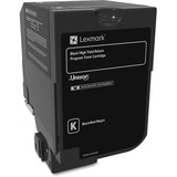 Lexmark Unison Toner Cartridge - Black - Laser - High Yield - 20000 Page LEX74C1HK0