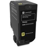 Lexmark Unison Toner Cartridge - Yellow - Laser - Standard Yield - 3000 Page LEX74C10Y0