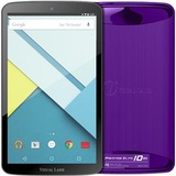 "Visual Land Prestige Elite 10QS ME10QS16GBKCPRP Tablet - 10.1"" - 1 GB Quad-core (4 Core) 1.30 GHz - 16 GB - Android 5.0 Lollipop - 1280 x 800 - In-plane Switching (IPS) Technology - Purple"