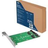 Vantec Multi-size Dual M.2 to Two SATA III Port Converter Kit