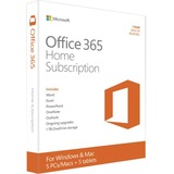 Microsoft Office 365 Home Subscription + Exclusive Upgrades and New Features - 5 PC/Mac, 5 Tablet, 5 User, 5 TB OneDrive Cloud Storage
