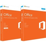Microsoft Office 2016 Home & Student - Box Pack - 1 PC - Non-commercial, Medialess