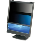 """SKILCRAFT LCD Monitor Framed Privacy Filter Black - For 20""""Monitor NSN6497196"""