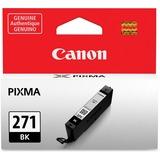 Canon CLI-271 Ink Cartridge - Black - Inkjet - 1 / Each CNMCLI271BK