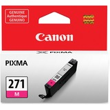 Canon CLI-271 Ink Cartridge - Magenta - Inkjet - Standard Yield - 1 / Each CNMCLI271M