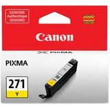 Canon CLI-271 Ink Cartridge - Yellow - Inkjet - Standard Yield - 1 / Each CNMCLI271Y