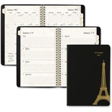 At-A-Glance Paris Weekly/Monthly Planner - Julian - Weekly, Monthly, Daily - 1.1 Year - January 2017 AAG579200