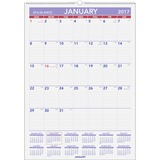AAGPM22817 - At-A-Glance Recycled Monthly Wall Calendar