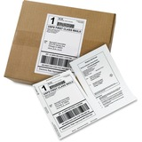 "Avery Paper Receipt White Shipping Labels - Permanent Adhesive - 500 Label(s)"" - 5.06"" Width x 7.62"" AVE27902"