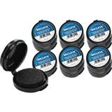 BAU38010CT - SICURIX Adhesive Fingerprint Ink Pads