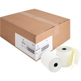 "Business Source Carbonless Paper - 3"" x 90 ft - 0% Recycled Content - 50 / Carton - White BSN98103"
