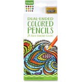 Crayola Dual-ended Colored Pencils - Assorted Lead - 12 / Each CYO686812