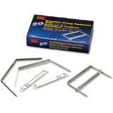 """OIC 2"""" Premium Prong Fasteners Set - 2"""" Size Capacity - for Paper, Document, File, Folder - Heavy Du OIC99711"""