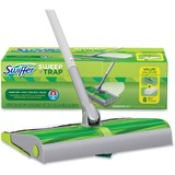 Swiffer Sweep/Trap Sweeping Kit - 1 Kit - Green, Silver PGC92713