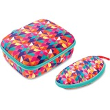 ZIPIT Colorz Lunch Box Set - Lunch Box - Pink - 1 Piece(s) Set ZITZPPLBCTSP