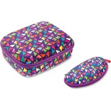 ZIPIT Colorz Lunch Box Set - Lunch Box - Purple - 1 Piece(s) Set ZITZPPLBPTSP