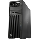 HP Z640 Convertible Mini-tower Workstation - 2 x Processors Supported - 2 x Intel Xeon E5-2620 v4 Octa-core (8 Core) 2.10 GHz - Brushed Aluminum, Black