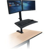 BLT91114 - MooreCo Up-Rite Desk Mount for Monitor, Note...