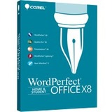 Corel WordPerfect Office v.X8 Home & Student Edition - Box Pack - 1 User