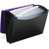 """Smead Poly 12-pocket Expanding File - Letter - 8 1/2"""" x 11"""" Sheet Size - 12 Internal Pocket(s) - Pol SMD70862"""