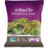The Better Chip Spinach/Kale Chips - Gluten-free - Spinach & Kale - Bag - 1.50 oz - 27 / Carton SUG56095