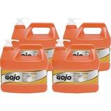 Gojo NATURAL* ORANGE Smooth Hand Cleaner - Citrus Scent - 1 gal (3.8 L) - Pump Bottle Dispenser - So GOJ094504CT