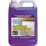 Simple Green Concrete/Driveway Cleaner Concentrate - Concentrate Liquid Solution - 1 gal (128 fl oz) SMP18202CT