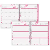 Blue Sky Breast Cancer Awareness Large Wkly/Mthly Alexandra Planner - Large Size - Julian - Weekly,  BLS17960