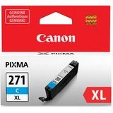 Canon CLI-271 Ink Cartridge - Cyan - Inkjet - High Yield - 1 / Each CNMCLI271XLC
