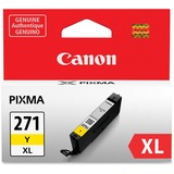 Canon CLI-271 Ink Cartridge - Yellow - Inkjet - High Yield - 1 / Each CNMCLI271XLY