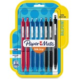Paper Mate Inkjoy 300 RT Ballpoint Pens - 1 mm Point Size - Assorted - Assorted Barrel - 8 / Pack PAP1945918