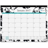 Blue Sky Barcelona Desk Pad - Julian - Monthly, Daily - 1 Year - January till December - 1 Month Sin BLS17954