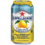 SanPellegrino Italian Sparkling Lemon Beverage - Ready-to-Drink - Limonata Flavor - Can - 12 / Carto NLE041508433471