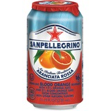 SanPellegrino Italian Sparkling Blood Orange Beverage - Aranciata Flavor - 11.15 fl oz - 12 / Carton NLE041508433495