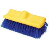 "Rubbermaid Commercial Plastic Block Floor Scrub - 2"" Length Bristles - 6 / Carton - Polypropylene Fi RCP633700BECT"