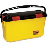 """Rubbermaid Commercial Hygen Charging Bucket - 12.2"""" x 8.8"""" - Yellow RCPQ95088YWCT"""