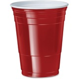 SCCP16R - Solo Cup 16 oz. Plastic Cold Party Cups