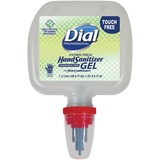 Dial Duo Disp. Antibacterial Hand Sanitizer Gel - 40.6 fl oz (1200 mL) - Kill Germs - Hand - Clear - DIA13413
